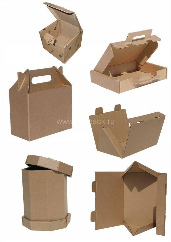 Сделать коробку из гофрокартона своими руками