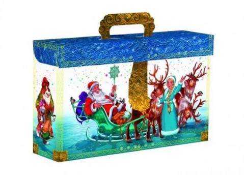 Подарочная коробка – чемоданчик